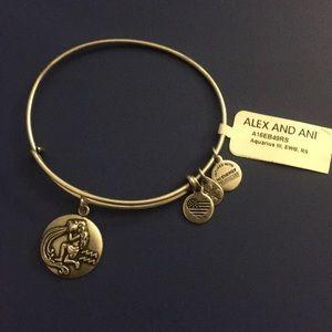 ALEX AND ANI Aquarius Charm Bracelet New with Tag
